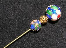 "BROOCH/STICK PIN 5"" Cloisonne Beads Fashion STICKPIN S1"