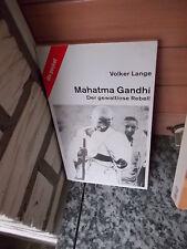 Mahatma Gandhi, der gewaltlose Rebell, von Volker Lange, aus dem dtv pocket Verl