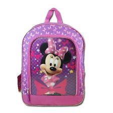 "Licensed Disney Minnie 16"" Lenticular Backpack #MCCF07W"