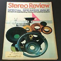 VTG Stereo Review Music Magazine August 1975 - Speaker Issue Pointers & Guide