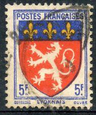 STAMP / TIMBRE DE FRANCE OBLITERE N ° 572 ARMOIRIE / LYONNAIS