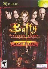 BRAND NEW SEALED XBOX -- Buffy the Vampire Slayer: Chaos Bleeds (Xbox, 2003)