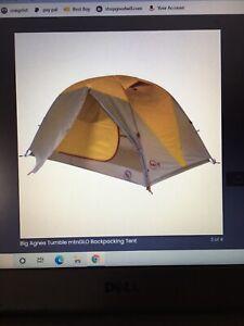 Big Agnes Tumble-3-Mtn.Glo tent(3 person)green/white