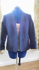 "BNWT Great Plains size M (12) ladies lined ""diamond days"" jacket in Admiral Blue"