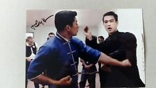 More details for bruce lee taky kimura bruce lees no 1 student signed photo