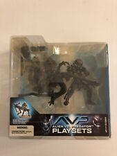 Alien VS Predator Playset Celtic Predator Throws Alien McFarlane's New In Box.