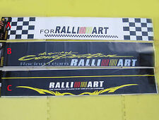 X-Large Ralli-Art Windscreen Sticker/Decal 132cm x 21cm