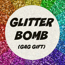 Anonymous Glitter Bomb Mail Send Prank Gag Gift Letter Card FUNNY birthday card