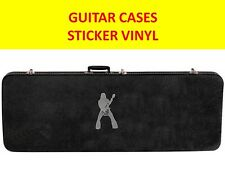 ZAKK WYLDE SILVER STICKER VINYL GUITAR CASES VISIT MY STORE FOR CUSTOM GUITARS