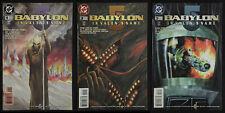 BABYLON 5 IN VALEN'S NAME #1, 2 & 3 Comic Book Series J Micheal Stracynski 1998