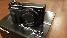 Canon PowerShot G7 X Mark II Digital Camera Plus 2 Additional Batteries included
