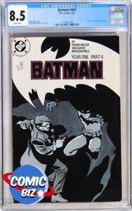 BATMAN #407 (1987) 1ST PRINTING DC MODERN AGE YEAR ONE PART 4 CGC VFN+ 8.5