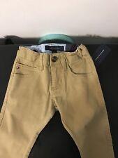 Boys Tommy Hilfiger Stretch Size 4 Skinny Khaki Jeans