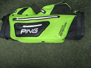 Ping Pioneer Monsoon Black/Lime Bag