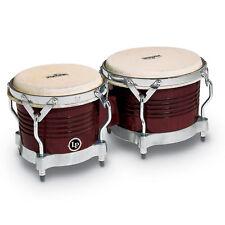 Latin Percussion LP Matador Wood Bongos Almond Wood