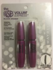 Maybelline Volumen' Express los Falsies Máscara Negra Drama - Lavable Bono Pack