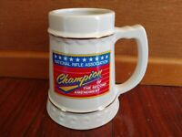 NATIONAL RIFLE ASSOCIATION NRA CHAMPION of the SECOND AMENDMENT BEER STEIN MUG