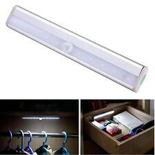 Wireless PIR Motion Sensor 10 LED battery powered Drawer Cabinet Wardrobe Bright