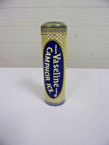 Vintage Vaseline Camphor Ice Advertising Tin