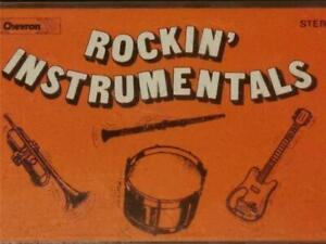 COMPILATION - ROCKIN' INSTRUMENTALS - CASSETTE - CHEVRON - CHV 086 - 197?