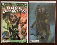 Death Metal 3 Robin King Variant/Legends Of The Dark Knights 1 1st Appearance NM