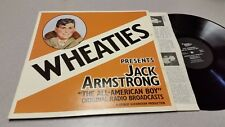 WHEATIES - JACK ARMSTRONG - MARK56, RADIO BROADCASTS,  VINYL RECORD