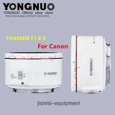[YONGNUO OFFICIAL] YN 50MM F1.8 II WHITE COLOUR AF MF Lens for CANON EF EOS DSLR