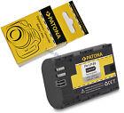 Batteria Originale Patona LP-E6 per Canon EOS 60D 60Da 7D 5D Mark II III 70D 2 3