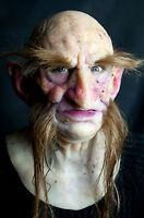"Silicone Mask Old Troll ""Limdaka"", Hand Made, High Quality, Realistic Halloween"
