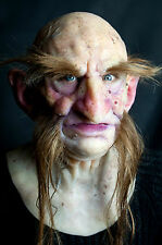 "Silicone Mask Old Troll ""Limdaka"", Hand Made, High Quality, Realistic Halloween"
