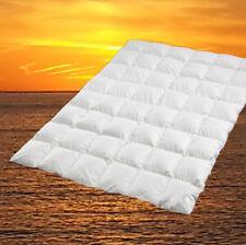 Extra warme 100/% sibirische Daunen Winter Bettdecke Daunenbett 155x220 cm 1400g