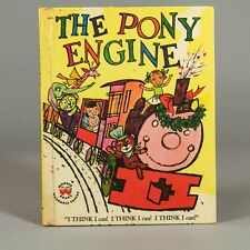 "Vintage Wonder Book ""The Pony Engine"" 1957"