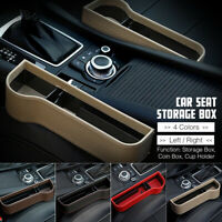 Car Seat Slit Gap Pocket Catcher Box Storage Organizer Phone Bottle Cup Holder