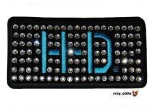 HARLEY DAVIDSON STUDDED RHINESTONE HD VEST PATCH OBSOLETE DESIGN LADIES BLING