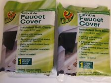 Duck Brand Insulated Soft Flexible Faucet Cover Pack of 2 Easy To Install