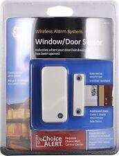 Wireless Alarm System Door Sensor Home House GE Choice Alert Alarm Sensors NEW