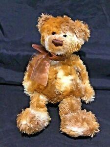 Gund Butterscotch Teddy Bear Vintage Plush Brown soft plush Toy 36cm