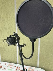 Asta microfono da Tavolo telescopica supporto, Base in ghisa Con Accessori Extra