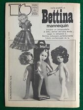 VV38 Pubblicità Advertising Clipping 19x13 cm (1973) BETTINA BAMBOLA SEBINO