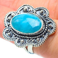 Larimar 925 Sterling Silver Ring Size 6 Ana Co Jewelry R30913F