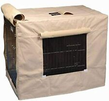 Petmate Precision Pet Indoor/Outdoor Crate Cover Large Tan (H99)