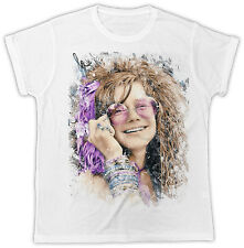 JANIS JOPLIN COOL RETRO DESIGNER IDEAL GIFT SHORT SLEEVE MENS UNISEX T SHIRT
