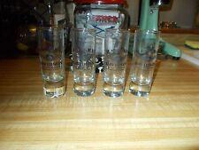 4 HARLEY DAVIDSON 110TH ANNIVERSARY SHOT GLASSES GENUINE HARLEY MADE IN USA