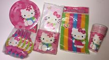 Sanrio HELLO KITTY Happy Birthday Party Bundle Lot set Collectible