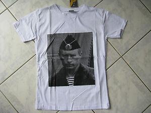 T-shirt russe président de RUSSIE Vladimir POUTINE blanc T.XS   N 122