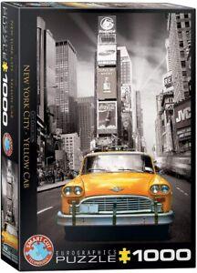 EuroGraphics E6000-0657. Puzzle de 1000 piezas. Taxi en Nueva York. 68x48cm