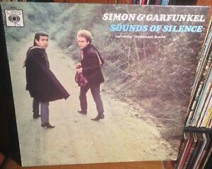 SIMON & GARFUNKEL sounds of silence 1960's UK CBS STEREO VINYL LP