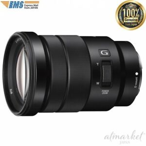 SONY Zoom lens And PZ 18-105mm F4 G OSS E-mount For APS-C size SELP18105G JAPAN
