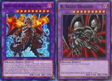 Archfiend Black Skull Dragon 1st LDK2  + B. Black Skull Dragon Mili 2-Cards Set