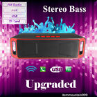 LOUD BLUETOOTH WIRELESS SPEAKER PORTABLE STEREO FOR IPHONE IPAD LG SONY SAMSUNG